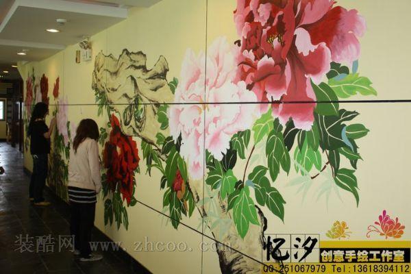 精彩绝伦的手绘墙效果——重庆忆汐手绘工作室