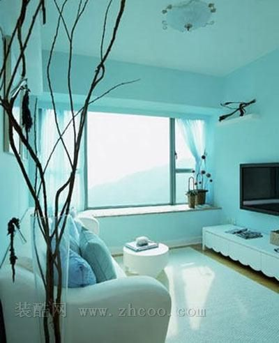 小户型客厅装修效果图-温馨,潮流