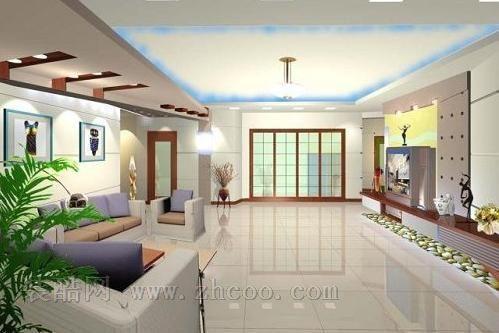 客厅装修设计图 打造潮流简约生活