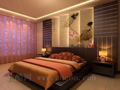 女生最爱卧室装修效果图,比较成熟的色彩来装饰卧室.