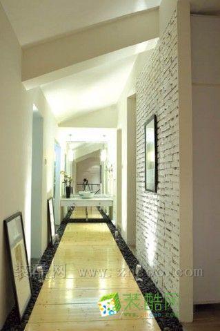 客厅走廊地板砖造型图