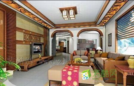 时尚客厅吊顶装修效果图 打造个性完美客厅